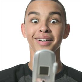 Boy-texting